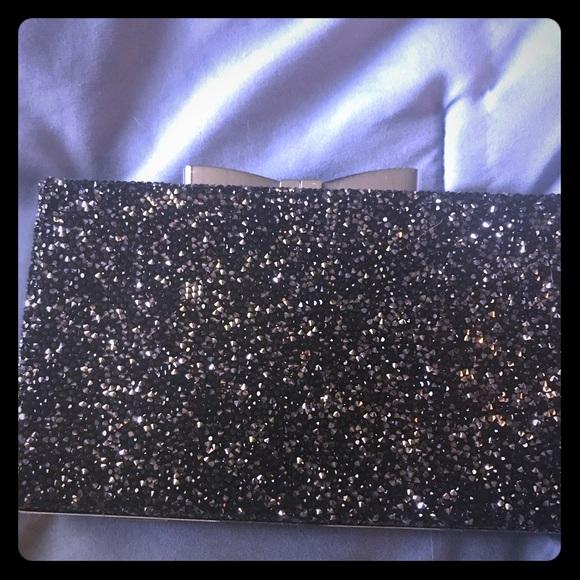 Dillards Bags   Classic Black Evening Clutch   Poshmark 6ff5da3489